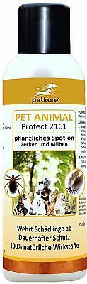 Peticare Zecche Spot-on Anno-protezione Per Cani, Gatti - 100% Biologicamente- Risparmia Il 50-70%