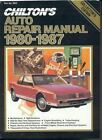 Chilton Service Manuals: Chilton's Auto Repair Manual, 1980-1987 by Chilton Automotive Editorial Staff (1987, Paperback)