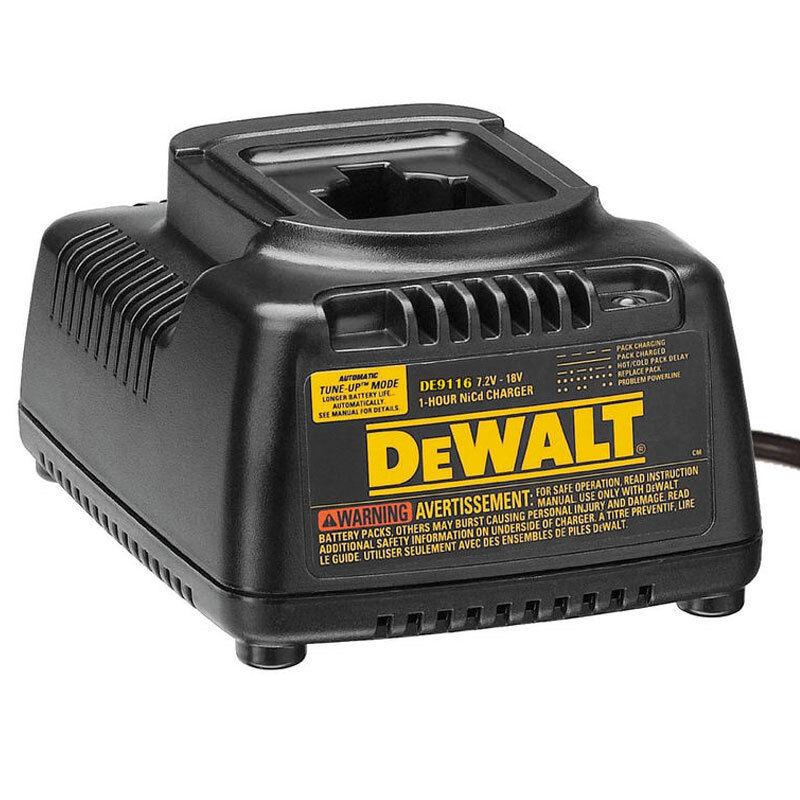 Dewalt Charger DE9116 7.2-18V NiCd NiMH Supports 220V