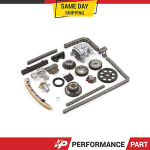 Details about Timing Chain Kit Oil Pump for 99-07 Chevrolet Suzuki V6 2 5L  2 7L H25A H27A