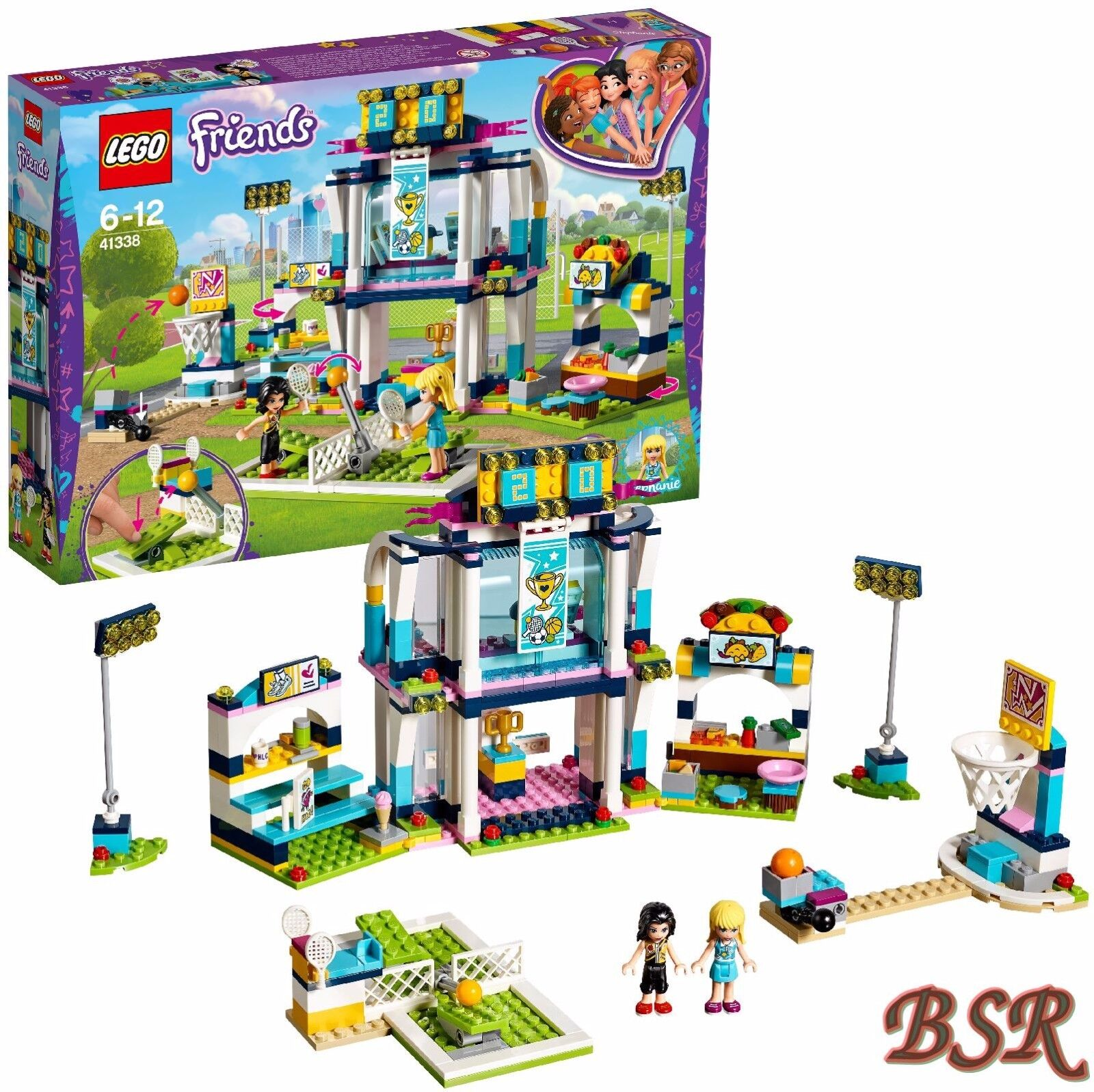 LEGO ® Friends  41338 Stephanie Sport Stade & 0. - expédition & NOUVEAU & NEUF dans sa boîte
