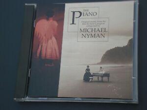 Michael Nyman CD-ALBUM: The Piano - Soundtrack, Modern Classical 1993