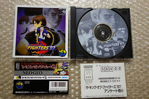 The-King-Of-Fighters-97-Kof-Spine-Regist-034-Good-Condition-034-Neo-Geo-CD-SNK-Japan