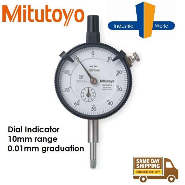Mitutoyo Digimatic Dial Indicator - 0.01mm Graduations 10mm range - 2046S