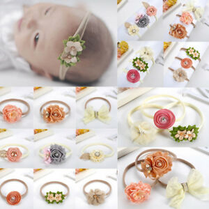 New-3Pcs-set-Baby-Girls-Infant-Toddler-Flower-Bow-Headband-Hair-Band-Accessories