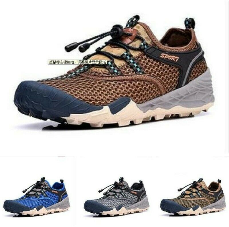 Outdoor Casual Leisure Mens Mesh Skidproof Breathable Climbing Sports zapatos News