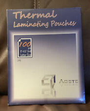 Aoste Thermal Laminating Pouches 100pc 9x 115 3mil
