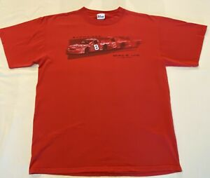 NASCAR-Chase-Authentics-Dale-Earnhardt-Jr-Racing-Budweiser-T-Shirt-Size-Large