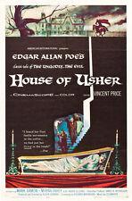 "House of Usher, Movie Poster Replica 13x19"" Photo Print"