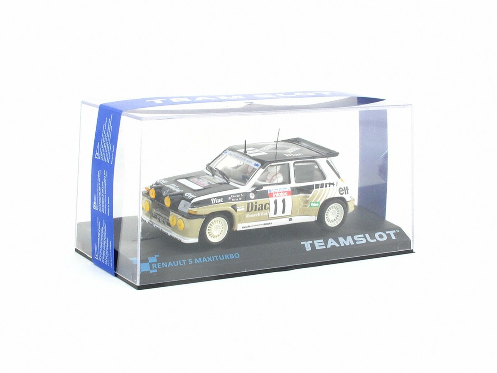 """Teamslot Renault 5 Maxiturbo Ref. 12106 """"DIAC"""" 1 32 Slot Car"""