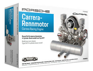 Porsche Carrera Model Engine Kit with Collector's book
