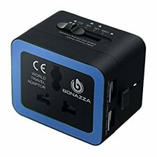 BONAZZA 2000W Universal World Travel Adapter and Converter - 220V to 110V