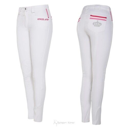 Kingsland montar con rodilla-Grip  keomi , blancoo   Tienda de moda y compras online.