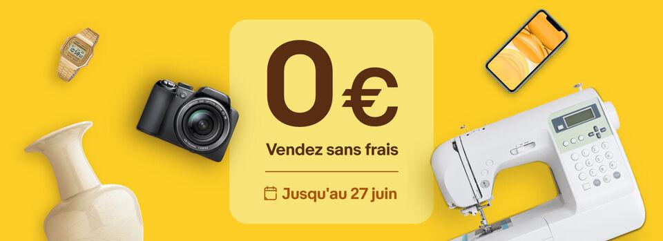 Activer la promo - Vendez sur eBay, sans frais et sans limite* !