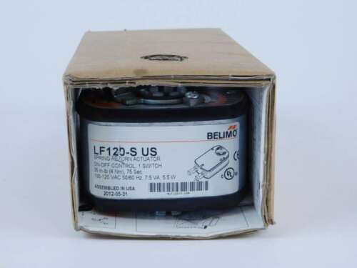 NEW Surplus! 100-120 VAC Belimo LF120-S-US Spring Return Actuator