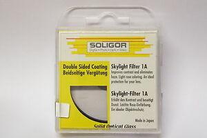 Soligor Skylight Filter 1A 55 mm Neuware  Sky Filter 55mm