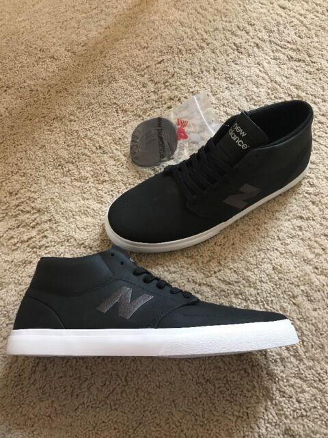 3497a3d182bd4 New Balance Numeric 346 Mid Skate Shoes Black/Grey Men's Size 10.5 NM346YN