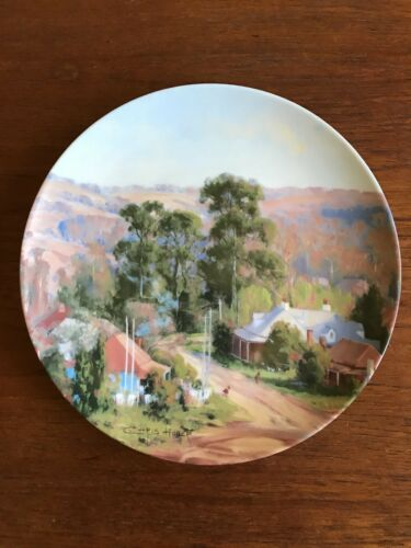 "Vintage Bendigo Pottery Collectors Plate ""Berrima"" Chris Huber in Heritage Towns"