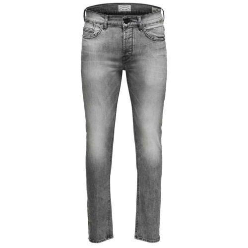 ONLY /& SONS Herren Jeans Onsloom Dcc 8532 in Grau