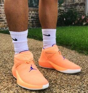 Nike Jordan Why Not Zero.1 Cotton Shot Mens Orange Pulse AA2510 800 ... 26599a7cd2