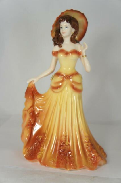 """Coalport Lady Figurine """"Summertime"""" Limited Edition!! Made in England!"""