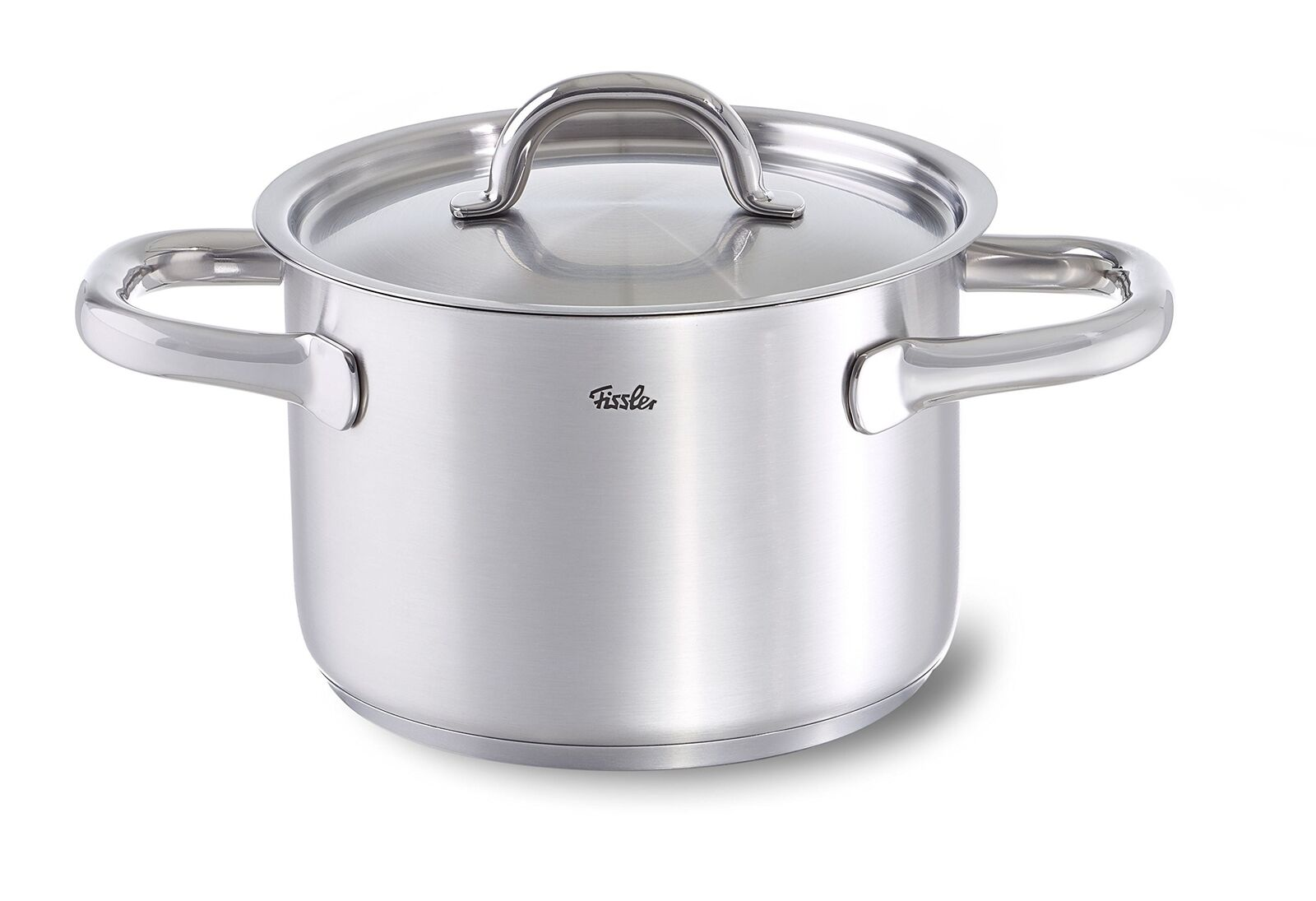 Fissler Family Line Stew Pot with Metal Lid, Stainless Steel, 16 cm
