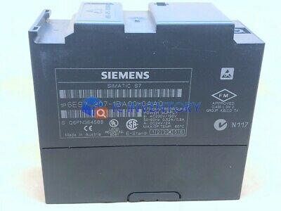 Siemens 6es7307-1ba00-0aa0 Power Supply 6es7 307-1ba00-0aa0