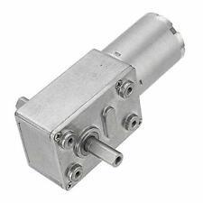 Dollatek Jgy 370 Dc 12v 150rpm Double Shaft Worm Gear Motor Self Locking Redu
