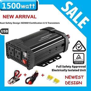 Solar-Power-Inverter-3000W-Powk-12V-DC-To-110V-AC-Modified-Wave-Converter-New-SL