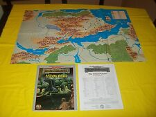 THE VILHON REACH FORGOTTEN REALMS DUNGEONS & DRAGONS AD&D TSR 9520 - 1 WITH MAP