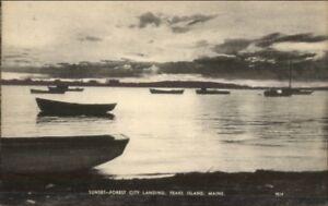 Peaks-Island-ME-Sunset-Forest-City-Landing-Postcard