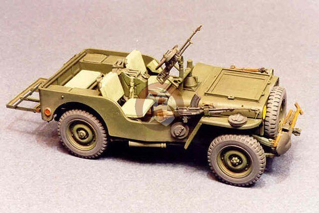 Resicast 1 35 British Airborne Jeep  Recce  Conversion WWII (for Tamiya) 351153