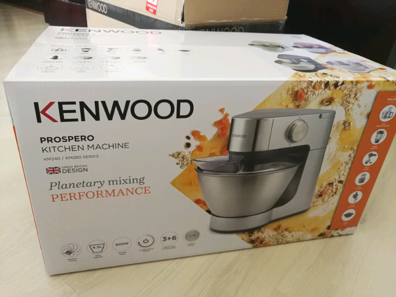 New Kenwood machine mixer with attachments