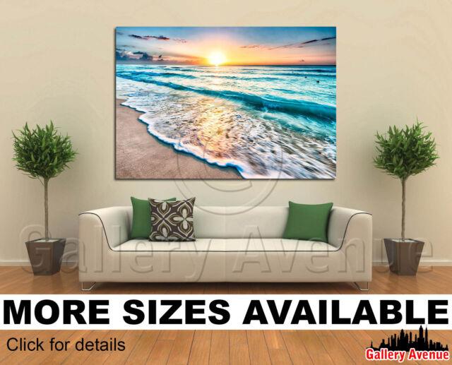 Big Beautifull Sea Wave 3.2 Wall Art Canvas Picture Print
