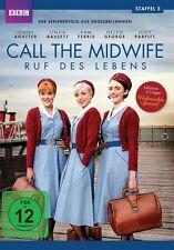 CALL THE MIDWIFE - RUF ES LEBENS STAFFEL 5  BASSETT,LINDA/+ 3 DVD NEU