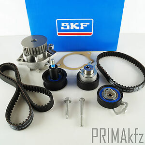 ORIGINALE-SKF-CINGHIA-SET-POMPA-ACQUA-SKODA-FABIA-VW-CADDY-GOLF-POLO-1-4-16v