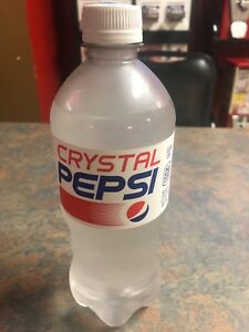crystal pepsi 2018 expires 11 05 2018 new sealed ebay