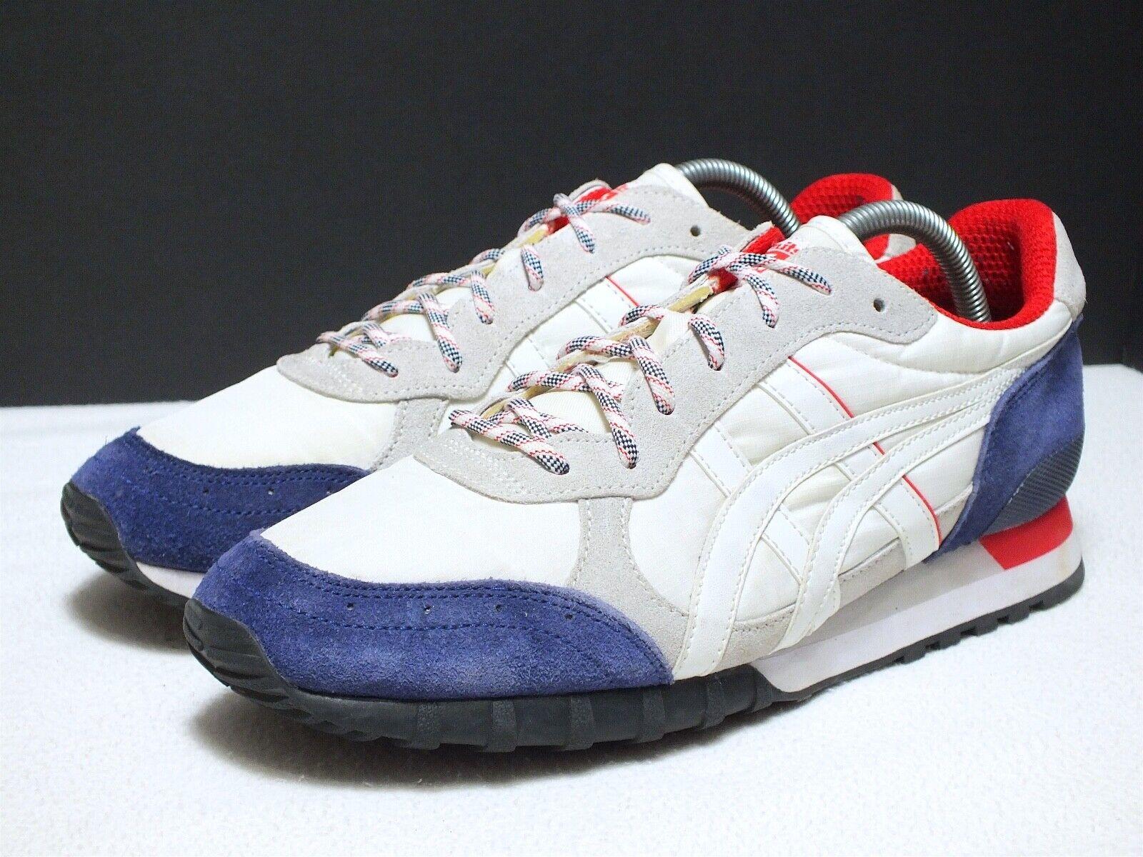Onitsuka Tiger colorado 85 Men's Sneakers Indigo bluee White Red Sz 9(US) SAMPLE