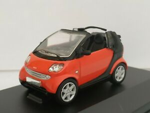 1-43-SMART-MERCEDES-FORTWO-CITY-CABRIO-COCHE-DE-METAL-A-ESCALA-DIECAST-SCALE