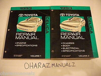1993 TOYOTA Celica Service Manuals