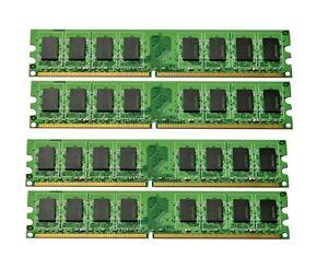 2GB Kit 2X 1GB DDR2 PC2-5300 667Mhz Dell  Dimension 9200 9200C Memory RAM