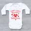 miniature 5 - Sorry Ladies Mummy Is My Valentine Cute Funny Girls Baby Grow Bodysuit