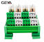 GEYA-4-Channel-Omron-Relay-Module-2NO2NC-DPDT-PLC-RELAY-Interface-12-24V-AC-DC miniature 2