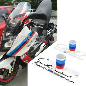 Style M MColored Stripe Body Sticker Decal For BMW - Bmw motorcycle stickers and decals