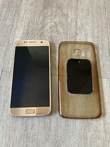 Samsung Galaxy S7 32 Go - Or (Désimlocké)
