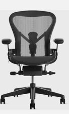 Authentic Herman Miller Aeron Chair B Medium Size Remastered Fully Posture Fit