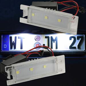LED-Eclairage-de-Plaque-pour-Alfa-Romeo-147-156-159-166-Gt-71001-50
