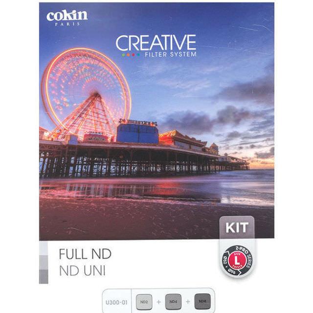 Cokin Z-Pro Serie Completo Nd Filtro de densidad neutra Kit (u300-01)