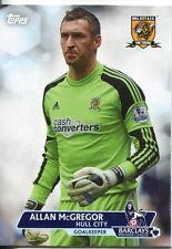Premier Gold Soccer 13/14 Base Card #140 Allan McGregor
