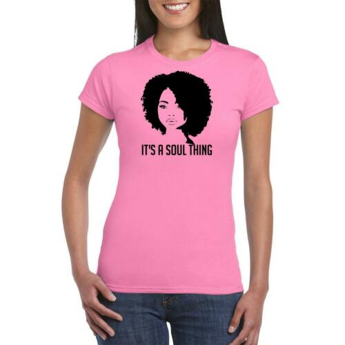 Il est A Soul chose Femmes Afro fête t shirt Enterrement Vie Jeune Fille